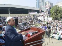 Central Convention 2021 was held in East Plaza of National Mosque Baitul Mukarram